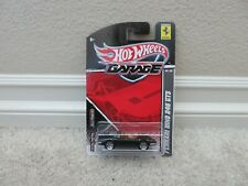 BRAND NEW 2011 HOT WHEELS GARAGE BLACK FERRARI DINO 246 GTS