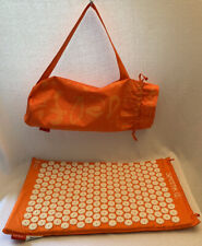 SPOONK Space NWOT Orange Accupressure Mat & Carry Bag Back Pain NEW