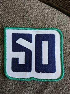 Vancouver Canucks 50th Anniversary Jersey Patch Home Jersey