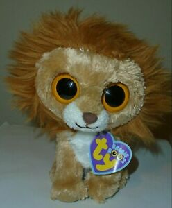 """CT* Ty Beanie Boos - KING the Lion 6"""" MINT with CREASED TAG"""