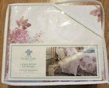 Simply Shabby Chic Blush Bouquet Rose Floral 2-Piece Twin Duvet Cover Set