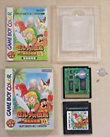 Gameboy Legend of Zelda DX GB game boy ver tested Nintendo manual boxed Japan