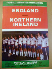 Championship Teams L-N Northern Ireland Football Programmes