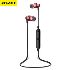 Awei Bluetooth 4.1 Wireless Stereo Earphone Earbuds Sport Headset Headphones Mic