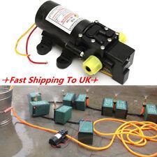 12V Hochleistung Elektrisch Auto Membran Wasserpumpe 5L/Min 100 Psi Hochdruck