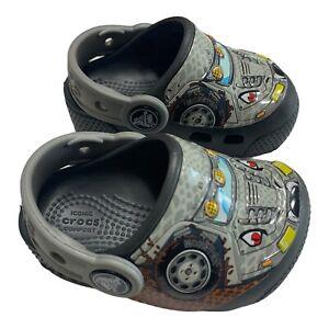 Crocs Toddler Monster Truck Theme Sandals W/ Headlights C4