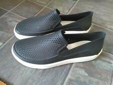 Mens Crocs citilane rocka ionic comfort sneaker style black size M12 uk 11-12 vg