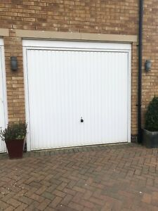 Hormann Single Garage Door With Frame- Now Removed And Available To Collect