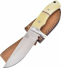 Frost Cutlery White Bone Classic Hunter Fixed Blade Knife 2915SBFL