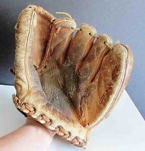Original Leather Vintage Baseball Glove Johnny Walker FG-1001 FREE SH
