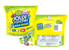 Jolly Rancher Sour Surge Assorted Flavors Hard Candy in Resealable Bag 13 ounce