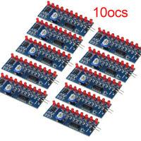 DIY Kit Running Flow LED Light Production Electronic NE555+CD4017 Light VDM
