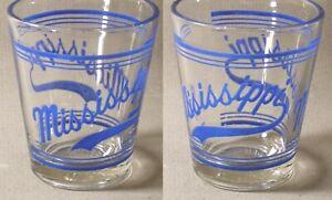 MISSISSIPPI Shot Glass #6357