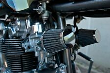 Filtro Aria Carburatore Cono 52 mm Cafe Racer Moto Honda Kawasaki BMW YAMAHA BSA