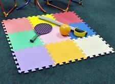 Kids Baby Soft Foam Play Floor Mat Multi colour Interlocking Indoor Outdoor 9pcs