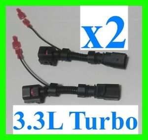 x2 Fits Stinger GT G70 G80 JB4 Lap3 Harness Fuel Wires Wire O2 Sensor Turbo AFR