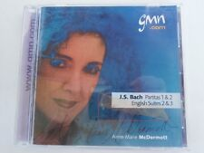 ANNE-MARIE McDERMOTT - BACH PIANO English Suites & Partitas - CD