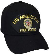 City Of Los Angeles Street Lighting Hat Color Black Adjustable