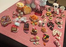 LPS Cake/Starbucks/Cookies/Coke/Burger Lot of 6 Accessories Littlest Pet Shop