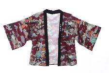 KJ-05-2 rot Night Parade of 100 Demons Ghost Tales Haori Über-Jacke Japan Kimono