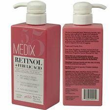 Medix 5.5 Retinol Cream with Ferulic Acid Anti-Sagging Treatment. Targets Crepey