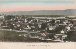 Birdseye View South End Mercersburg PA Franklin County 1907