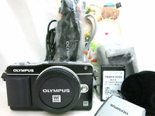 Olympus PEN mini E-PM2 compact digital camera body *black *mint *w. bonus