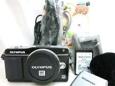 Olympus PEN mini E-PM2 compact digital camera body *black *superb