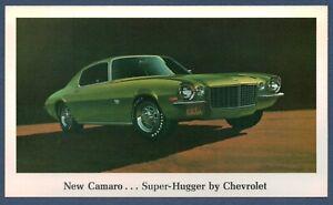 """1970 Chevrolet Nuovo Camaro Super Hugger """" Rivenditore Promozionali Cartolina"""