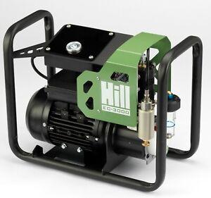EC-3000 - The Hill Electric Air Compressor Pump by Hill Pumps -  UK 230v Model