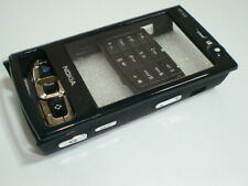 New nokia  n95  8gb cover  keypad housing fascia set black colour
