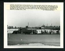 Tony Lema plane crash Lansing Illinois 1966 Press Photo Golf
