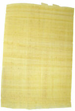 1 single Egyptian Plain PAPYRUS PAPER Blank Sheet art craft history cheapest