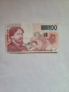 BELGIUM, 100 Francs  ND ( 1995 - 2001 ) , Pick # 147