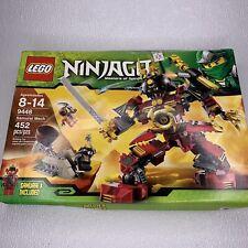 LEGO Ninjago Samurai Mech (9448) SEALED - Dented Box.