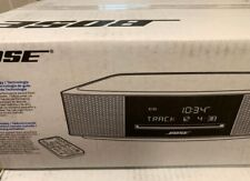 New listing Factory Sealed Bose Wave Music System Iv Cd Player Radio Alarm Remote Black