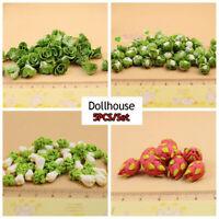 de verduras 1: 12 Casa de muñecas en miniatura Coliflor Simulación de frutas