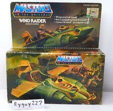 MOTU, Wind Raider, Masters of the Universe, MOC, sealed, MISB, box, He-Man