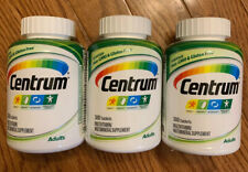 *EXP 03/2020* THREE! Centrum Adult Complete Multivitamin Multimineral, 300 EACH