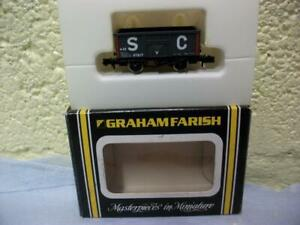 12t Steel Open Wagon 07217 'S.C.' Farish No 2211 'N' Gauge Boxed, V.Lightly Used