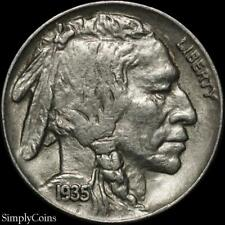1935 Indian Head Buffalo Nickel ~ XF Extremely Fine ~ US Coin MQ