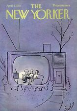 THE NEW YORKER MAGAZINE APRIL 4 1970 RACE TRACK SPACE STATION HAROLD WITT