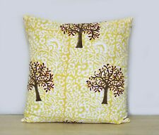 Hand Block Print Indian Cotton Decorative Pillow Case Sofa Square Cushion Cover