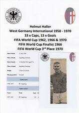 Helmut Haller Germany Intl 1958-1970 Rare Original Autograph Newspaper Cutting