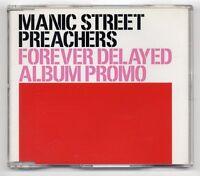 Manic Street Preachers CD Forever Delayed Album Promo SAMPCD12007 2 (not XPCD)