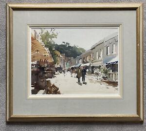 John Yardley Original Watercolour Signed Framed