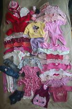 Bekleidungspaket Mädchen 74, über 30 Teile