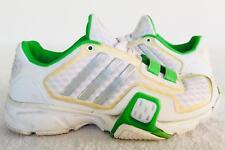 Womens Adidas Running Athletic Shoes Sz 5 Green White Adiwear 5 Adituff Adiprene