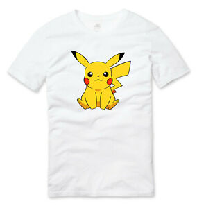 Pokemon Pikachu Gaming T Shirt White