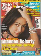 Télé Star N°1325 - 18/02/2002 - Shannen Doherty - Anne Parillaud - Laurent Gerra